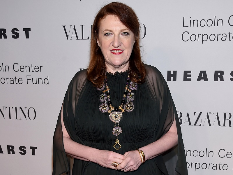 NEW YORK, NY - DECEMBER 07: Editor-in-chief of Harpers Bazaar Glenda Bailey attends an evening honoring Valentino at Lincoln Center Corporate Fund Black Tie Gala on December 7, 2015 in New York City. (Photo by Dimitrios Kambouris/Getty Images for Lincoln Center for the Performing Arts)